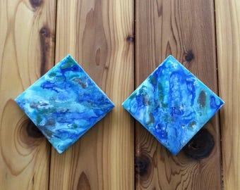 Coaster - Alcohol Paint - Ceramic Tile