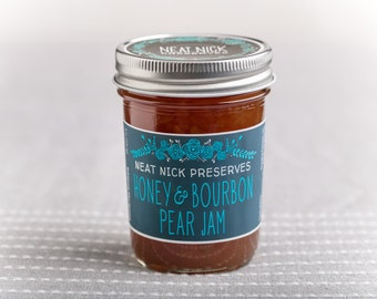 Honey & Bourbon Pear Jam