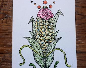 Harvest original drawing