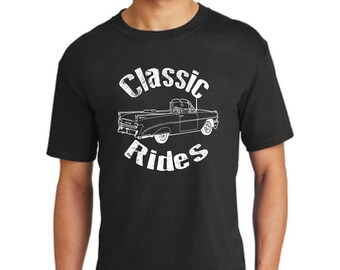 Classic rides car t-shirt-collectible cars t-shirt -gift t-shirt-unisex t-shirt-antique car t-shirt-vintage car shirt-old car t-shirt