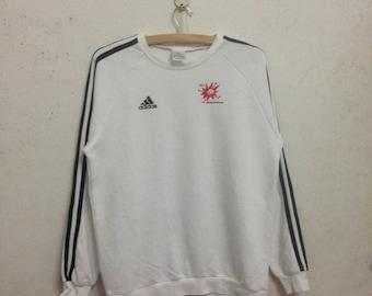 Vintage 90's Adidas Sweatshirts Size L