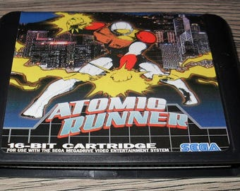 Game Megadrive Mega Drive Genesis: Atomic Runner Customized