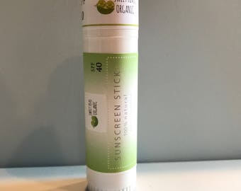 Water-resistant Sunscreen Stick - SPF 40