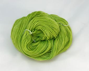 Green Eyed Monster - Hand Dyed Yarn - Dyed To Order
