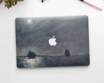 "Winslow Homer, ""Eastern Point Light"". Macbook Pro 15 cover, Macbook Pro 13 cover, Macbook 12 cover. Macbook Pro cover. Macbook Air cover."