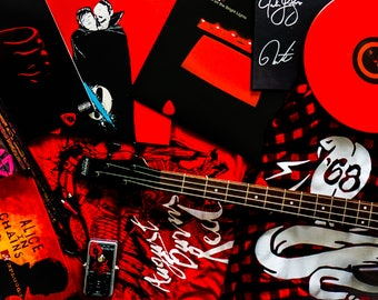 """Photo Collage Of Music Themed Art Print Entitled """"Alive Inside Music"""" Wall Decor, Photography"""