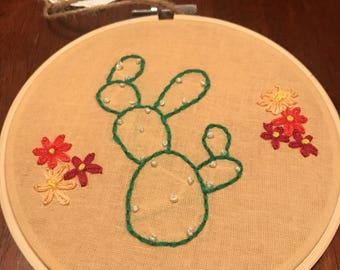Cactus and flowers; part two.