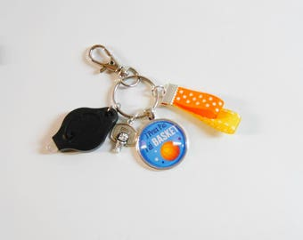 Keychain I can't I have basketball