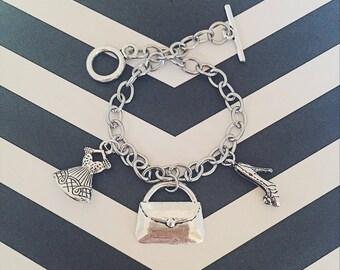 Fashionista Charm Bracelet