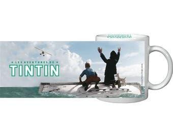 Haddock & Tintin mug in a gift box