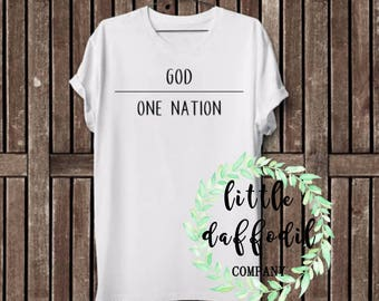 One Nation Under God Top