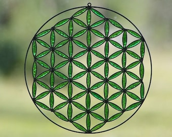 greenery flower of life boho decor hanging mandala yoga room meditation