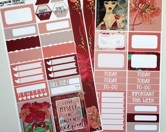 Cupid * NON-FOILED PERSONAL Sized Planner Sticker