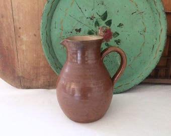 French stoneware pitcher/jug. Vintage