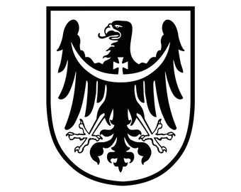 Coat Of Arms Eagle Bird Graphics SVG Dxf EPS Png Cdr Ai Pdf Vector Art Clipart instant download Digital Cut Print File Cricut Silhouette