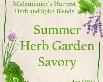 Summer Herb Garden Savory