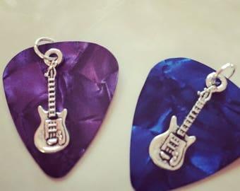 Guitar Pick Charm Necklaces