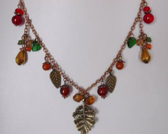 Autumnal Themed Necklace