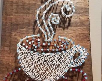 String Art Coffee
