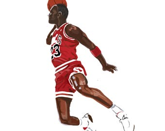 Micheal Jordan - 23 - Chicago Bulls