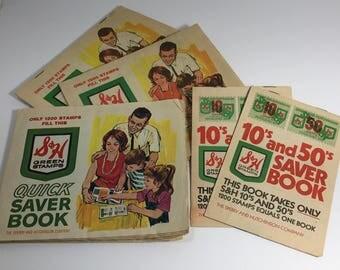 1960's | Quick Saver Books | set of 4 full, 2 empty
