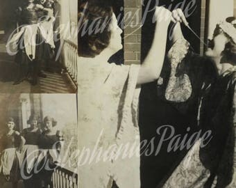 """1920-30'   """"Girls just want to have fun""""   black&white photography"""