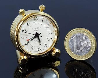 Miniature Swiss Alarm Clock