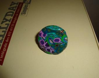 polymer floral spring color Adjustable ring