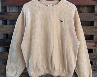 VINTAGE sweatshirt lacoste made in japan