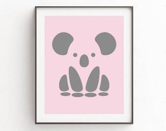Girl nursery decor, girl room decor, nursery print, nursery decor, girl nursery, pink wall art decor, pink nursery art, pink nursery prints