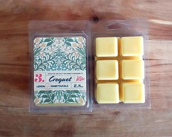 Lemon & Honeysuckle Scented Wax Melts  // Scented Soy Wax Melts // Mother's Day Gift, Thank You Gift // Soy Wax Melts Gift Idea