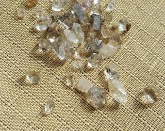 "Herkimer Diamonds, Ungraded, Smoky Under 1/4"" 5pcs"