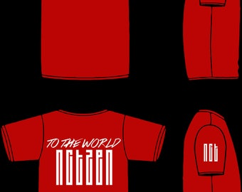 NCT 127 Bias Jersey-styled T-shirt (UP TO 4XL!)
