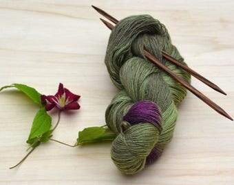 Lace yarn, Knitting yarn, green, purple, lace, yarn, wool, silk, a threads, Merino