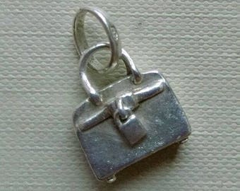 Authentic Links of London Sterling Silver Tres Chic Purse Bag Sweetie Charm