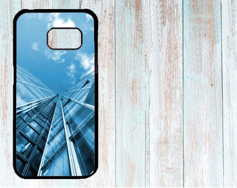 Samsung Cover, Samsung Case, Custom Samsung Cover, Personalised Phone Cover, Case for Samsung Galaxy S3/S4/S5/S6/S7, city, skyscrapers, cool