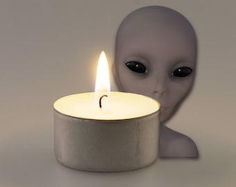 Alien Princess Scented Vegan Soy Handmade Scented Tealights