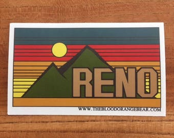 Reno Sticker