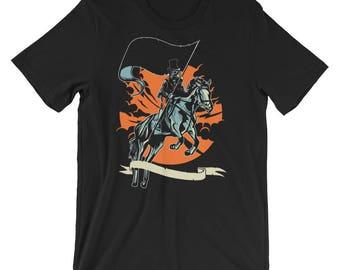 Plague Doctor Short-Sleeve Unisex T-Shirt
