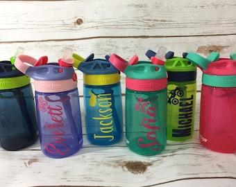Personalized Kids Contigo Water Bottle