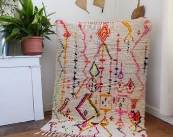 Carpet Azilal vintage neon