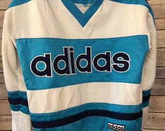 Vintage Kids Adidas Trefoil Jersey Sweater