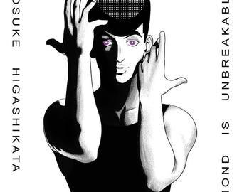 Josuke print - JJBA