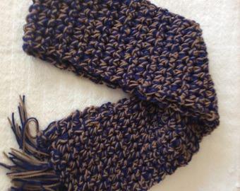 Hogwarts inspired scarf