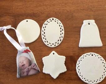 Ceramic Xmas Decorations