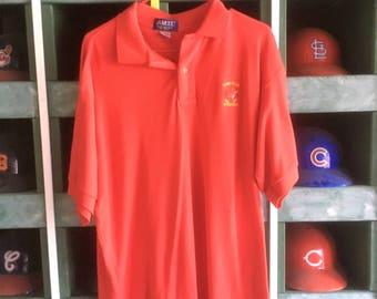 Vintage 1980s Iowa State University Cyclones Polo Shirt