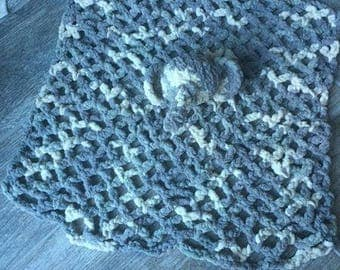 Elephant head Crotchet Lovey