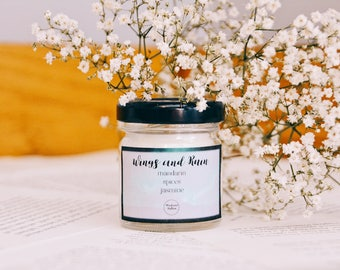 Wings and Ruin - 1.5oz Candle - ACOWAR - A Court of Wings and Ruin - Scented Soy Candle - Book Lover Gift