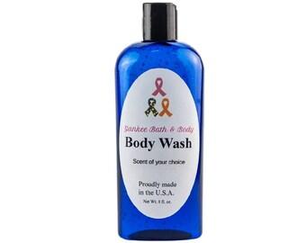 Sensual Amber Scented Natural Body Wash Free Shipping
