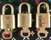 Authentic Louis Vuitton Lock & Key Set: Speedy, Alma, Neverfull, Keepall, Bandoliere,Doctor Bag